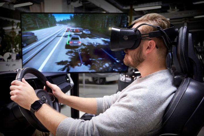 PS5 vs Volvo simulador