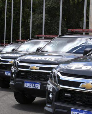 Chevrolet Trailblazer será o novo carro blindado da Polícia de SP