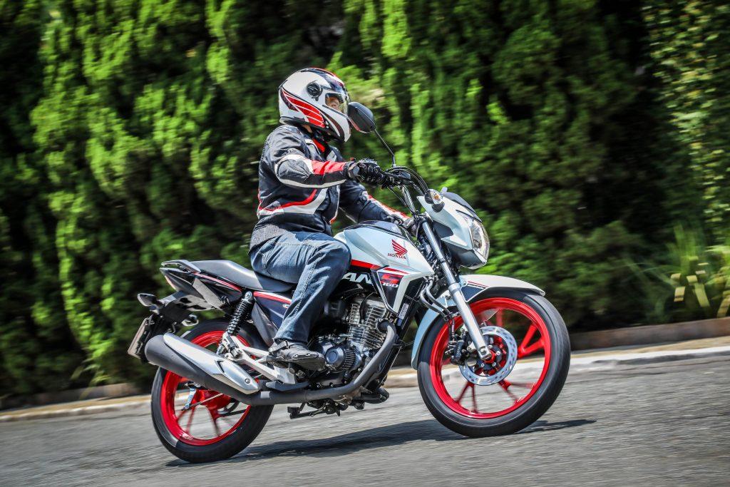 1º Honda CG 160: 269.226 unidades. Foto: Divulgação