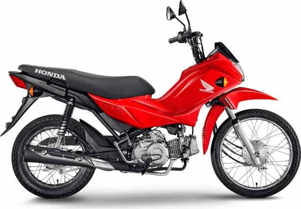 4º Honda Pop 110: 82.877 . Foto: Divulgação