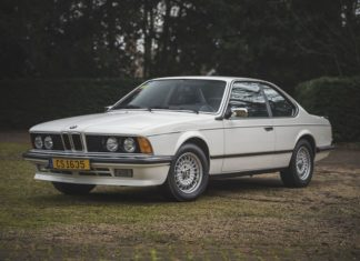 BMW 635CSi 1986 Sean Connery