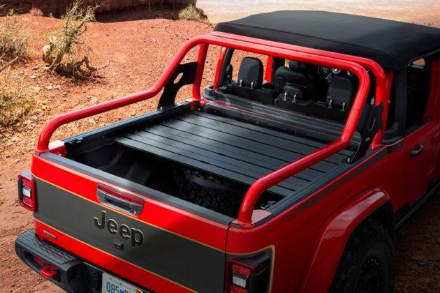 Jeep Red Bare Gladiator Rubicon