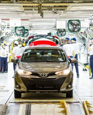 Toyota produção