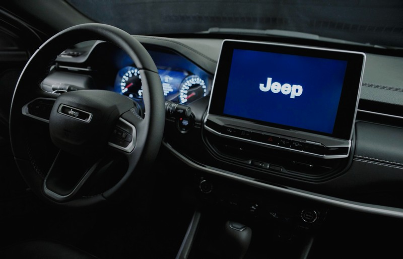 Interior do Novo Jeep Compass 2022