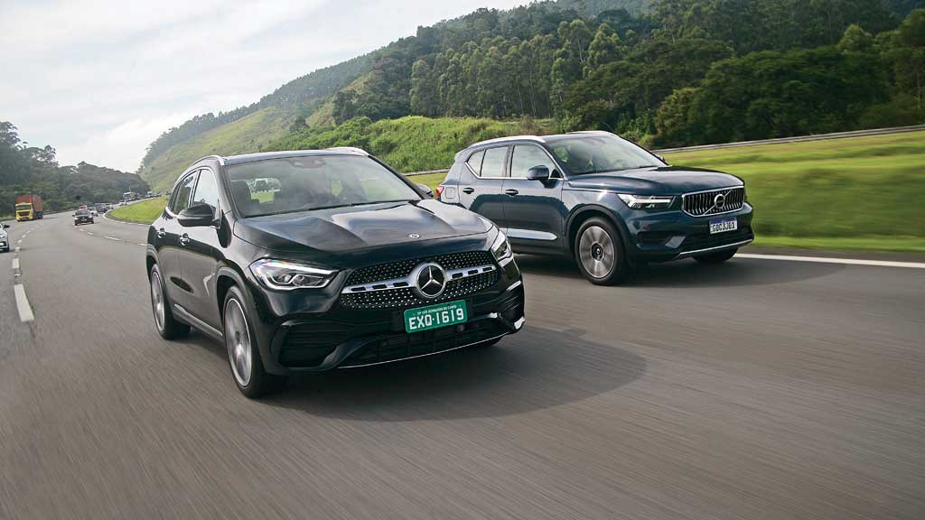Volvo XC40 vs. Mercedes-Benz GLA