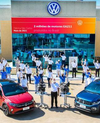 Fábrica da Volkswagen em São Carlos (SP) atinge marca histórica