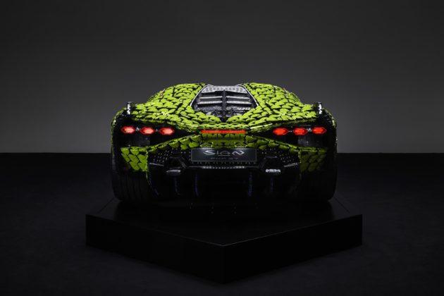 Lamborghini Sián ganha réplica de Lego em tamanho real
